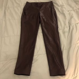 Vince camuto leather leggings